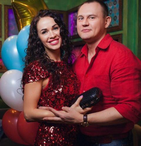 Степан Меньщиков с супругой Евгенией