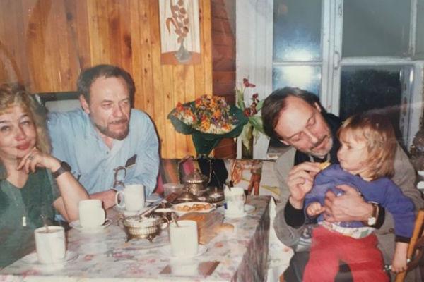 Янковский обожал своих внуков