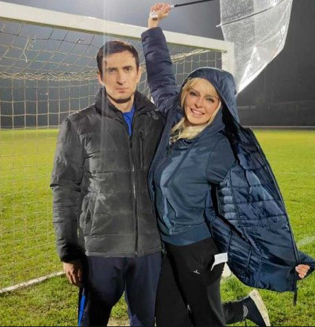 Алексей Лемар и Марина Орлова