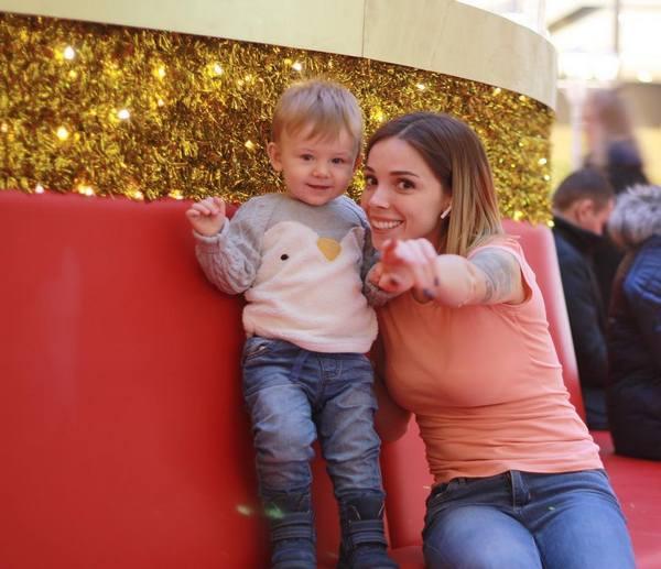 Лилия с сыном Степаном
