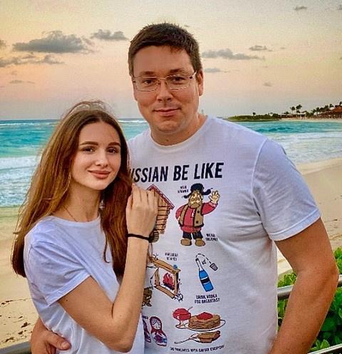 Андрей Чуев с супругой Викторией