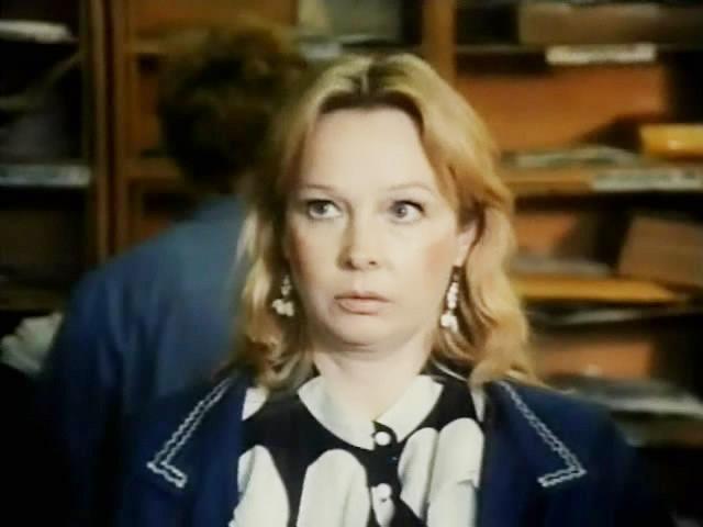 Последнюю роль в кино Богунова сыграла в 1992 году