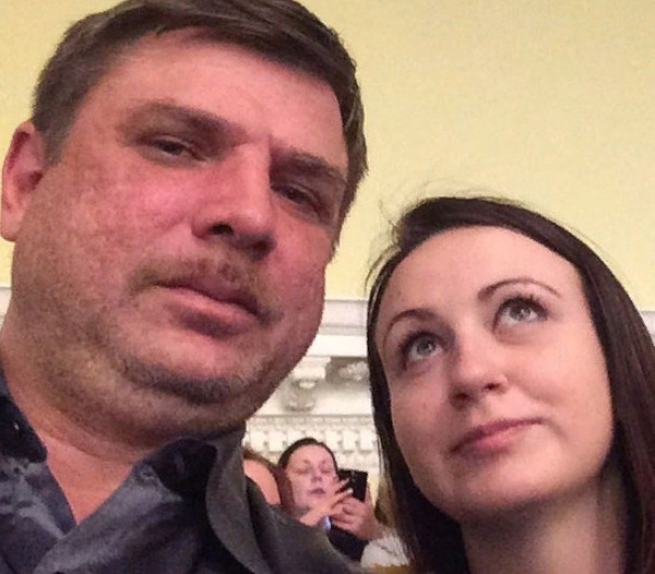 Дмитрий с супругой Викторией