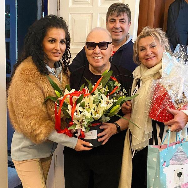 Вячеслав Зайцев с семьей Гарафутдиновых