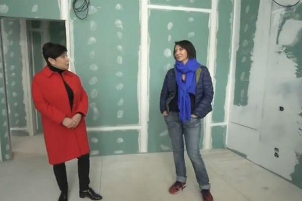Алика Смехова отремонтировала квартиру, доставшуюся в наследство от бабушки