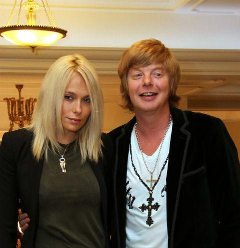 Андрей Григорьев-Апполонов с бывшей женой Марией