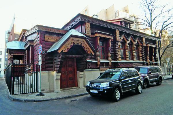 Дом Пороховщикова в Староконюшенном переулке