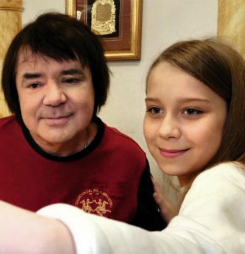 Евгений Осин с предполагаемой дочерью Настей