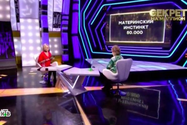 Лариса Рубальская в студии НТВ