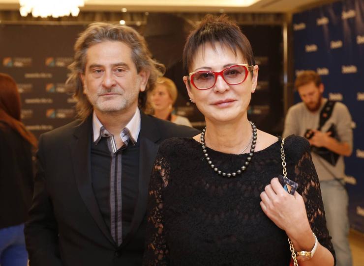 Ирина Хакамада с Владимиром Сиротинским