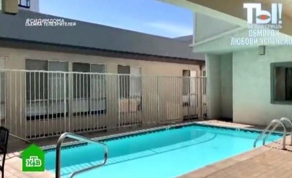 В комплексе есть бассейн