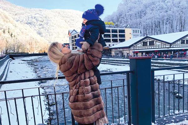 Малышу очень понравилось на курорте «Роза Хутор»