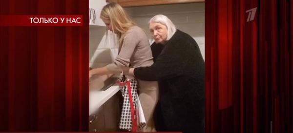 Ольга Мартынова в гостях у родителей Степана Джигарханяна