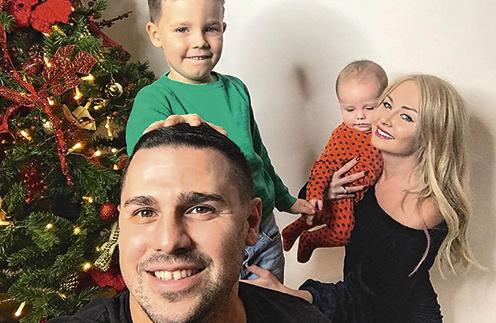 Сергей и Даша вместе уже 8 лет, пара воспитывает 5-летнего Тему и полугодовалого Давида