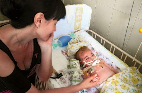 Снимки Жени в больнице Славянска после обстрела не оставили никого равнодушным