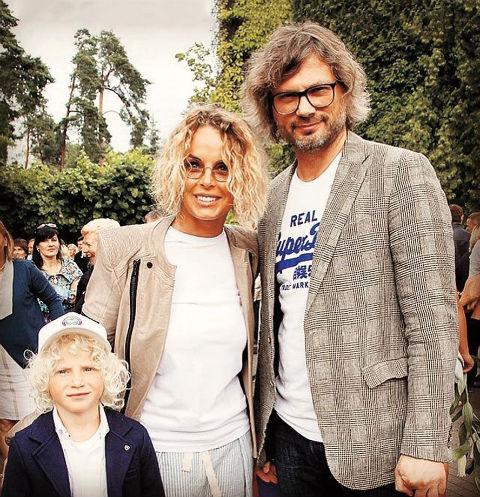 Анастасия Калманович и Федор Фомин с сыном Тихоном