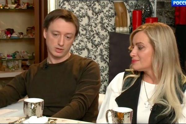 Наталия Гулькина с сыном Алексеем