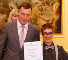 Сын Сергея Белоголовцева с диагнозом ДЦП побывал на заседании ООН