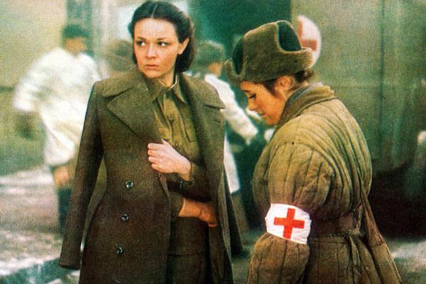 Ирина Акулова в картине «Блокада»