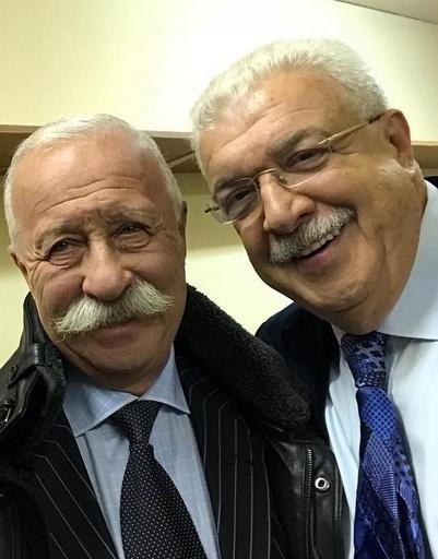 Леонид Якубович и Михаил Гусман