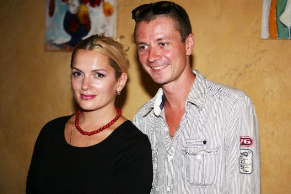 Актриса с супругом Ильей Древновым