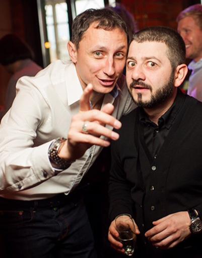 Вадим Галыгин и Михаил Галустян