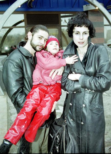 Апексимова с первым мужем Валерием Николаевым и дочкой Дашей