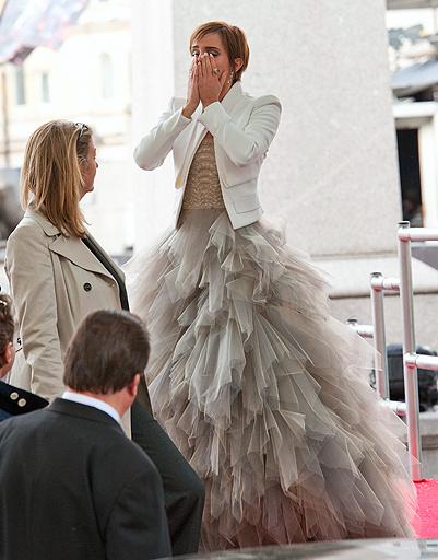Эмма Уотсон не смогла сдержать слез во время премьеры заключительной части фильма