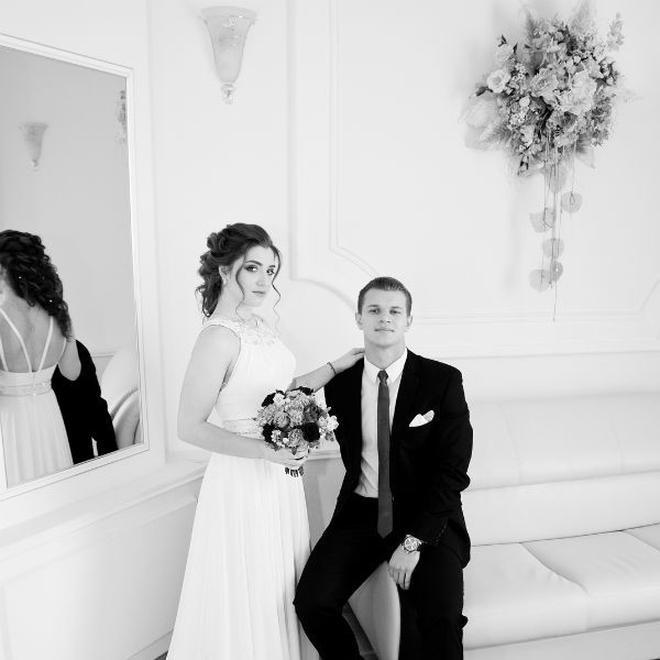 Алия Мустафина и Алексей Зайцев поженились в ноябре 2016 года