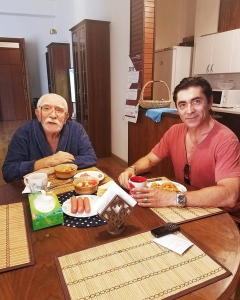 Армен Борисович с пасынком Степаном