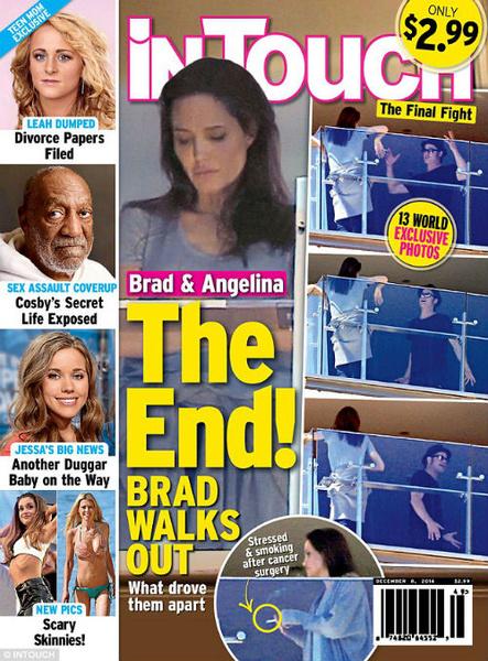 Новости: Анджелина Джоли и Брэд Питт устроили семейные разборки на балконе – фото №3