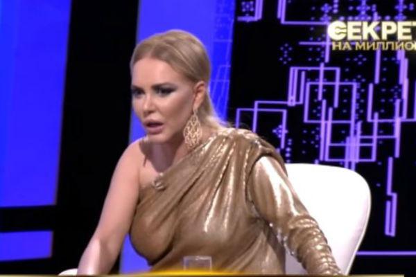 Маша на записи программы «Секрет на миллион»