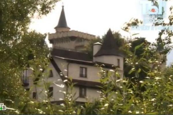 Замок Пугачевой и Галкина окружает огромный участок с газонами и деревьями