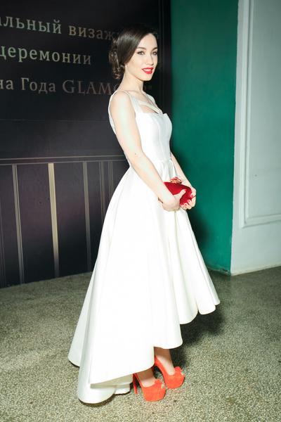 Виктория Дайнеко на вручении премии «Женщина года – 2013»