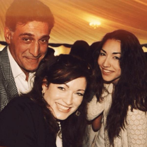 Александра Кеосаян с родителями
