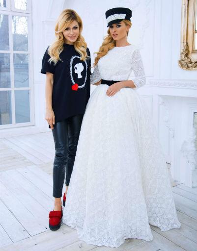 Ксения Бородина и Белла Потемкина