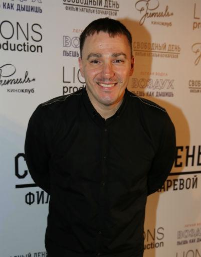 Кирилл Андреев на премьере фильма «Свободный день»