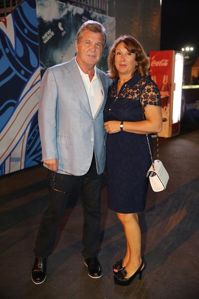 Лев Лещенко и его жена Ирина