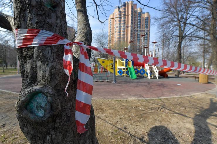 Парки и детские площадки закрыты в столице