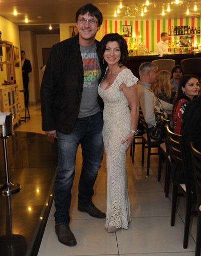 Роза и актер Дмитрий Орлов