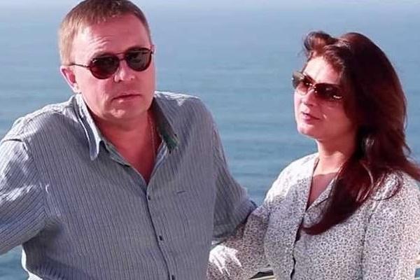 Алексей Нилов с третьей женой Еленой