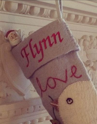 Модель Миранда Керр встретила Рождество вместе с Орландо Блумом и сыном Флинном