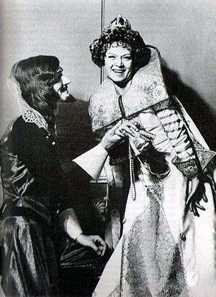 Александр Трофимов и Алиса Фрейндлих на съемках первого фильма
