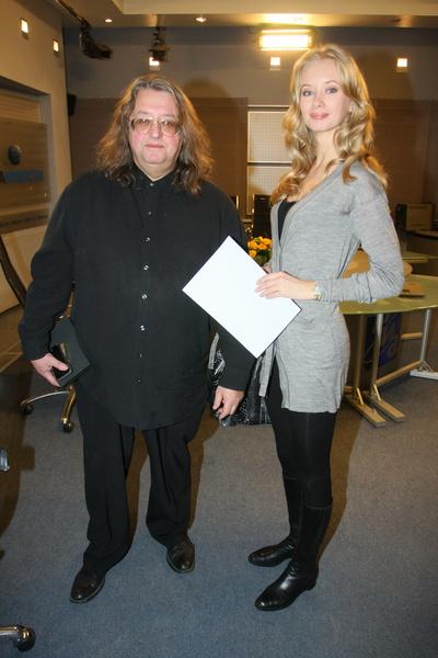 Александр Градский с супругой Мариной Коташенко