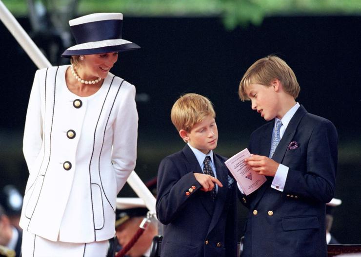 Диана мечтала, чтобы у ее сыновей было простое и счастливое детство