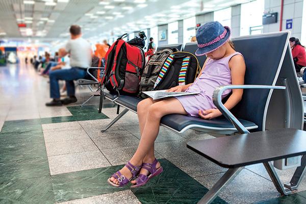 Надеюсь, родители этой путешественницы где-то рядом