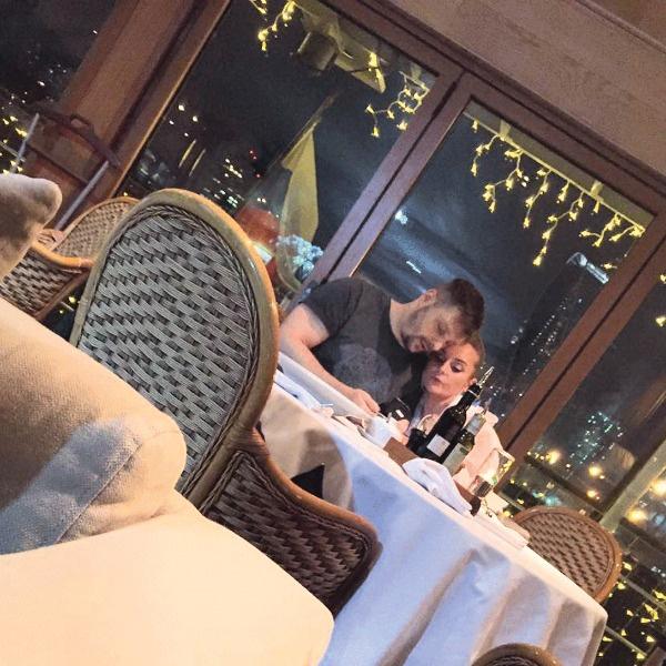 Носик и Крайнова часто ходят по ресторанам