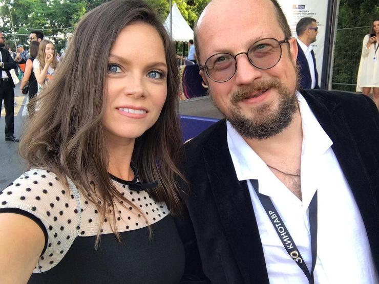 Ольга с супругом