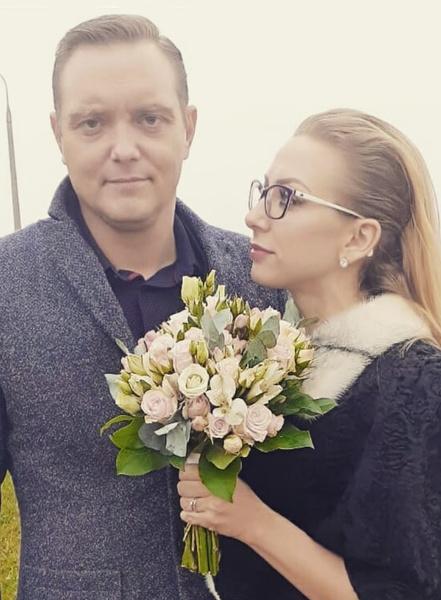 Святослав Астрамович со второй супругой Ириной