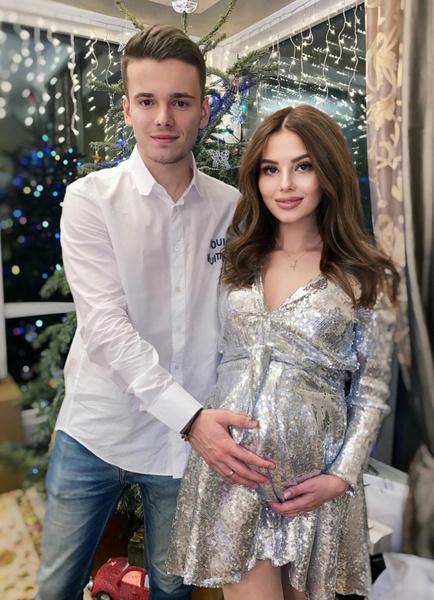 Арсений Шульгин с женой